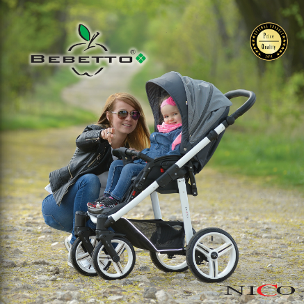 фото Bebetto Nico Plus 2 в 1