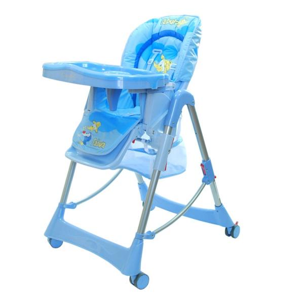 голубой детский стул фото