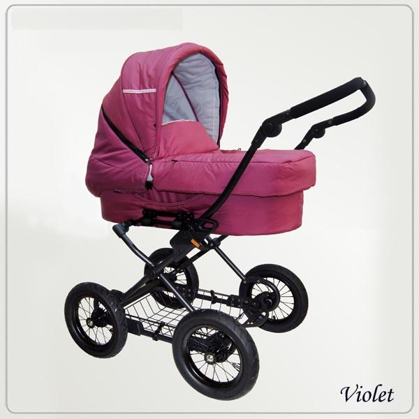 фото розовой детской коляски Hauck Arctica