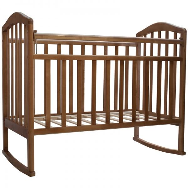 детские кроватки цвета орех