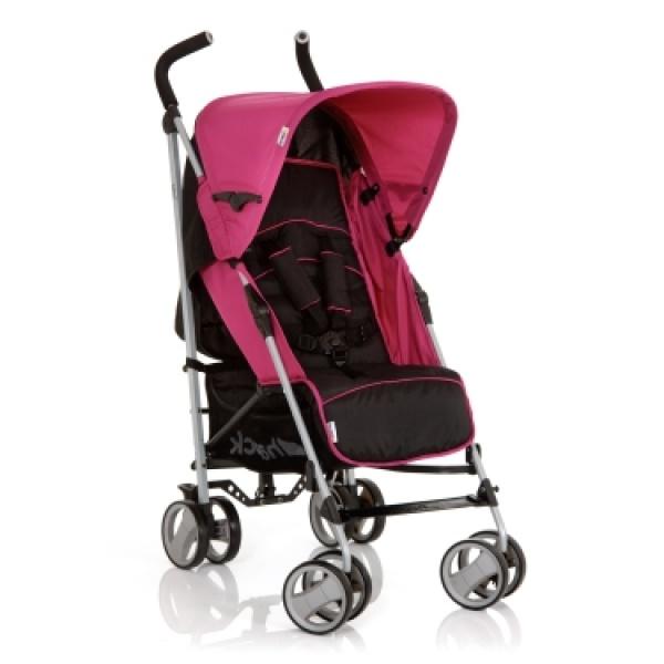 розовая коляска трость Hauck Roma фото