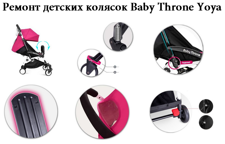 фото ремонта Baby Throne Yoya